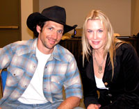Daryl Hannah and Charris Ford