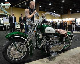 Paul Teutul Sr Introduces The Biodiesel Bike Biodiesel