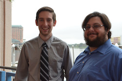 Jesse Mayer and James Anderson, Co-Chairs of the Next Generation Scientists for Biodiesel.