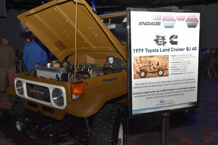 Cummins Crate Engine Repowers Clean Cruiser – Biodiesel Conference Blog